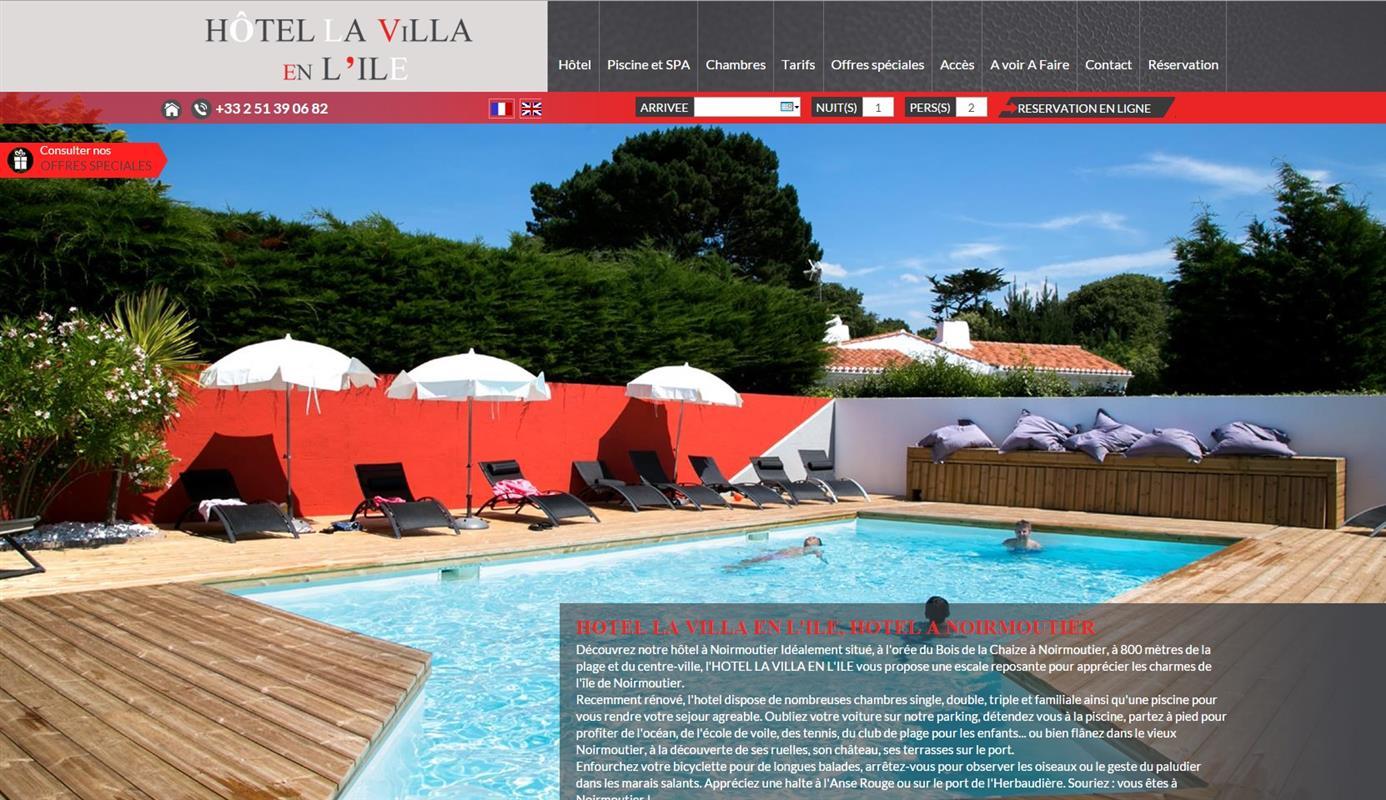 Hotel La Villa En L  Ef Bf Bdle A Noirmoutier